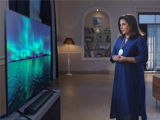 फराह खानने सांगितला Samsung QLED TV चा अल्टिमेट सिनेमॅटिक अनुभव