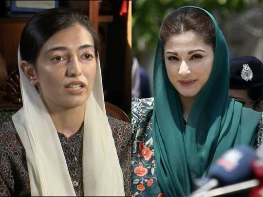 Maryam Sharif and Aseefa B Zardari