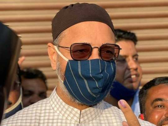 Owaisi cast his vote