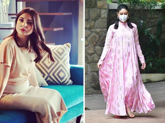 kareena kapoor and anushka sharma pregnancy looks