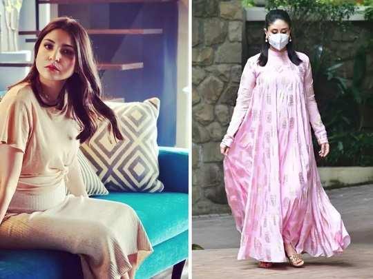 kareena kapoor and anushka sharma maternity fashion in marathi
