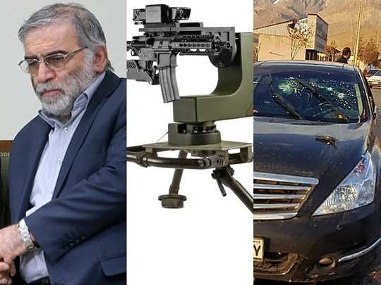 israel remote controlled gun turrets smash 2000 who killed iran top nuclear scientist mohsen fakhrizadeh