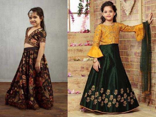 अपनी नन्ही गुड़िया रानी के लिए Amazon से खरीदें ये Lehenga Choli