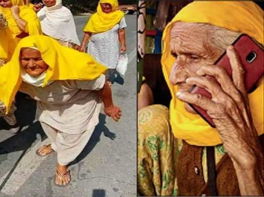farmers protest updates 80 years old two grannies from punjab turn poster women
