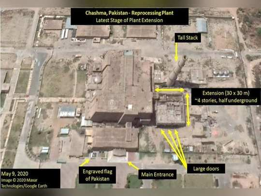 satellite photos reveals suspected nuclear weapons facility in pakistan chashma plutonium separation facility