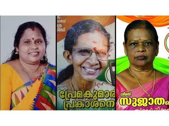 Mahila Congress Workers