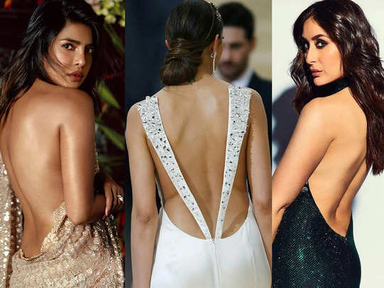 from aishwarya rai to kareena kapoor and anushka sharma when actresses wear gorgeous backless dresses