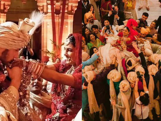 nick jonas and priyanka chopra post unseen photos of his wedding on marriage anniversary