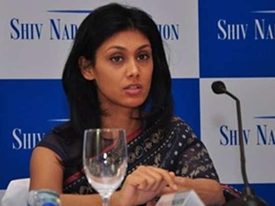 hcl roshni nadar is india wealthiest woman in kotak wealth hurun study