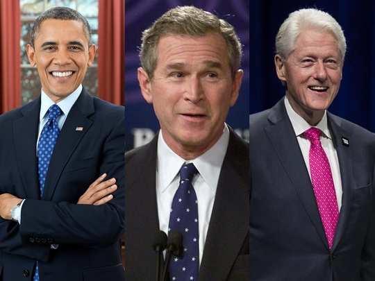 Bush Obama and Cliton 022
