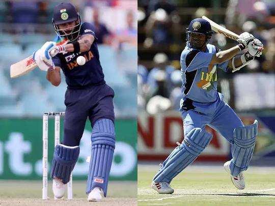 Sachin vs Virat: 12000 ODI रन पूरे करने के बाद क्या कहते हैं सचिन और विराट के आंकड़े