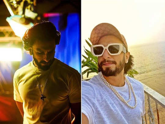 ranveer singh once again rocks the gender bending fashion with his pearl necklace on t shirt