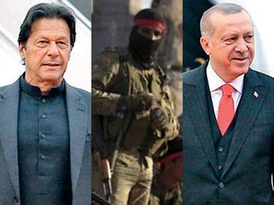 turkey sending mercenaries from syria to kashmir to repeat nagorno karabakh for pakistan