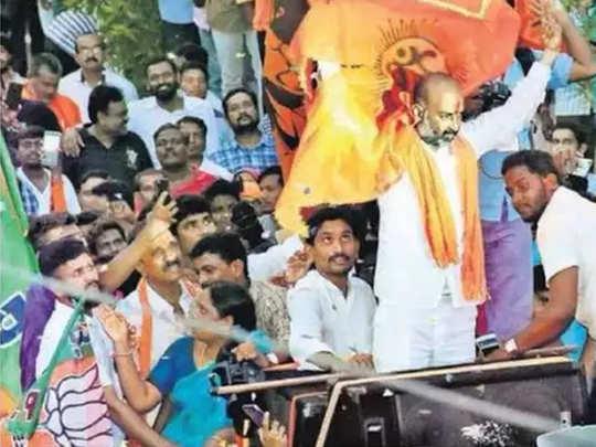 हैदराबाद महापालिका निवडणुकीत भाजपने केले आश्चर्यचकित, TRS ला झटका