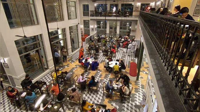 Bengali News videos News new coffee house at newtown kolkata