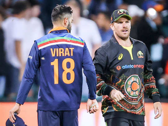 virat and aaron finch