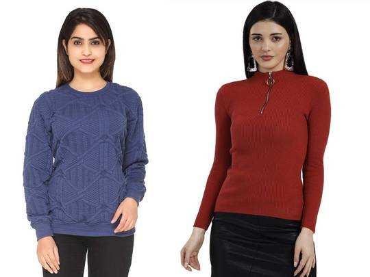 Amazon Sale में फैशनेबल Womens Sweater पर मिल रहा डिस्काउंट, यहां से करें ऑर्डर