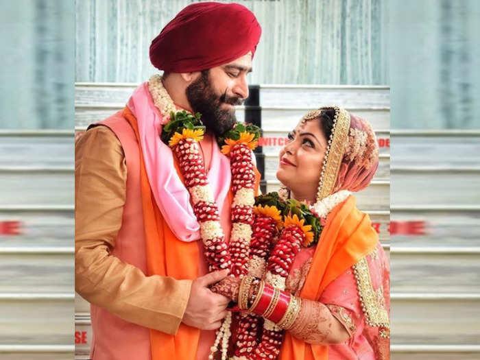 actress divya bhatnagar death few days before her wedding anniversary due to covid 19 a look at her wedding photos