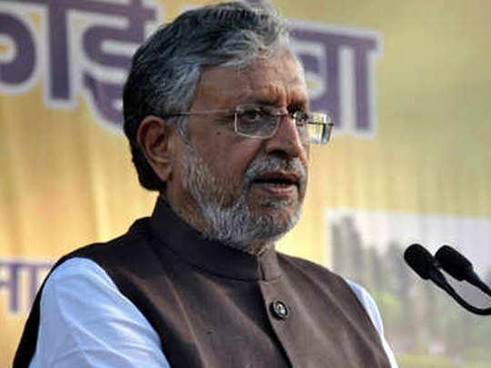 sushil kumar modi make record third leader from bihar after elect rajya sabha member