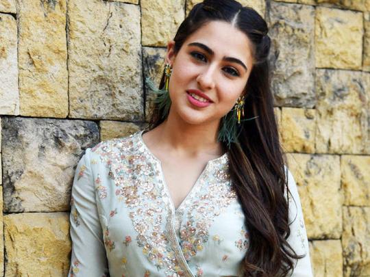 sara ali khan brutally trolled for her dress and ramp walk at blenders pride fashion tour