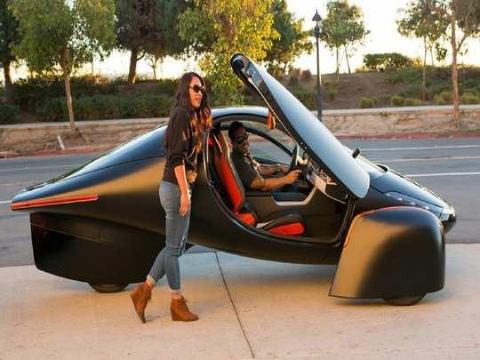 Aptera Paradigm Solar Powered Electric Vehicle 1