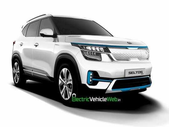 Kia Seltos EV launch Soon