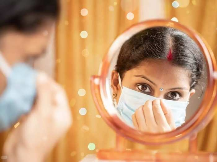 beauty care routine how to take care of your skin while using face masks in marathi