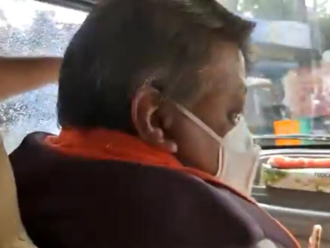 Stone pelting on Kailash Vijayvargiya's car