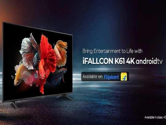 iFFalcon K61 4K TV 24W Speaker launched