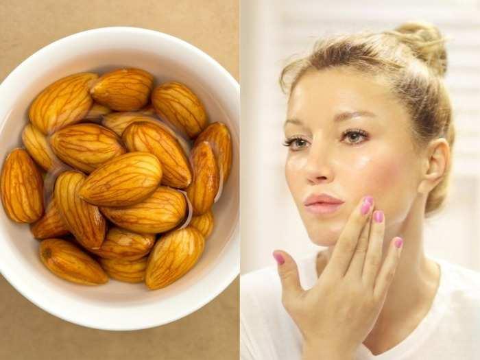 almond face cream at home