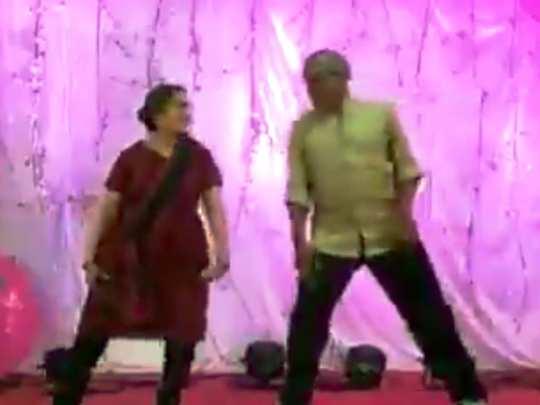 Elderly Couple Viral Dance