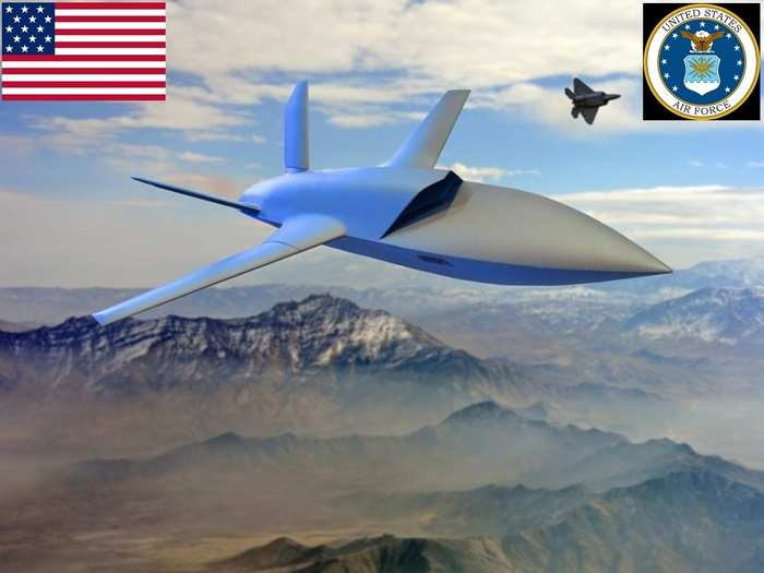 us air force to build stealthy unmanned combat aerial vehicle for skyborg vanguard program