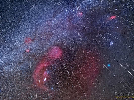 geminid meteor shower at peak in december best of the year 2020
