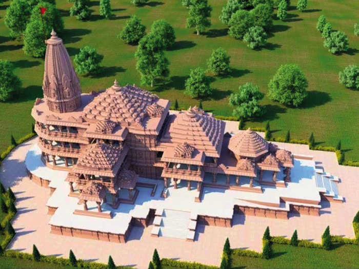 Proposed model of Ram Temple ayodhya