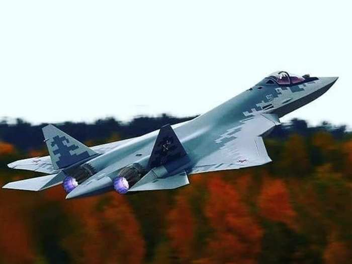russian sukhoi su-57 fighter jet superior then us lockheed martin f-35, can fire nuclear and hypersonic missiles