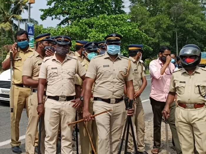 Chingavanam Police Covid