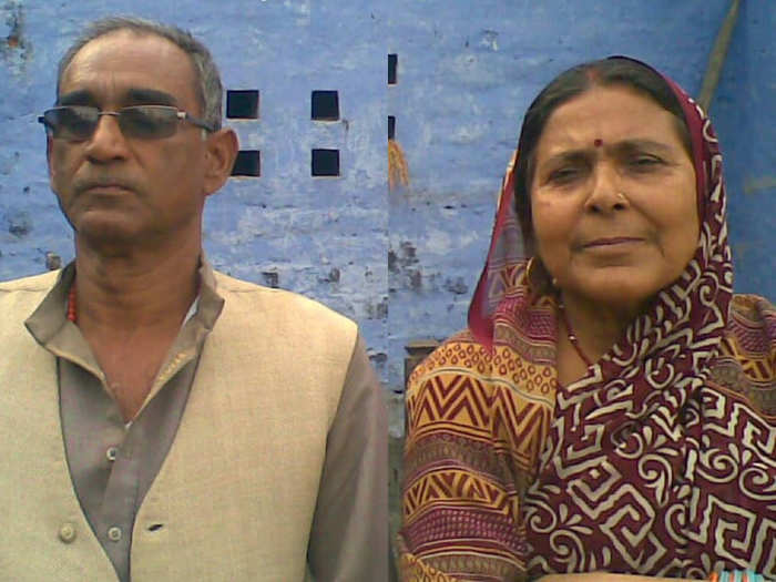 husband and wife left for heaven with each other in bihar