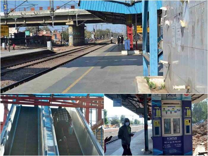 faridabad railway station not unlocked yet, bring water from home for train journey
