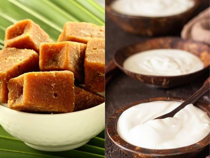 start consuming curd and jaggery everyday to reduce weight and increase stamina