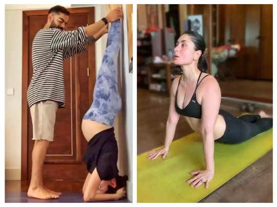bollywood actress yoga tips in hindi