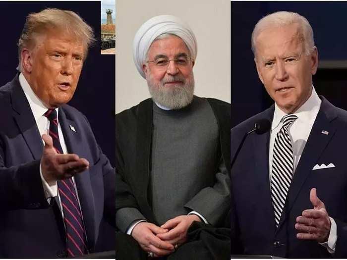 US Iran Hassan Rouhani Trump Biden