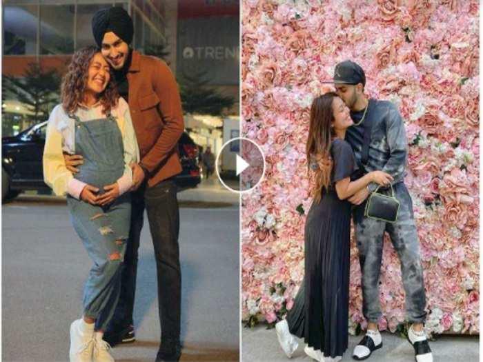 neha kakkar asks husband rohanpreet to take care of her in pregnancy in hindi