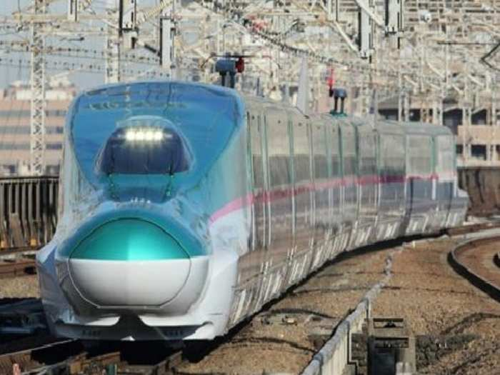 mumbai to ahmedabad bullet train first look release e5 series shinkansen japan embassy share photos
