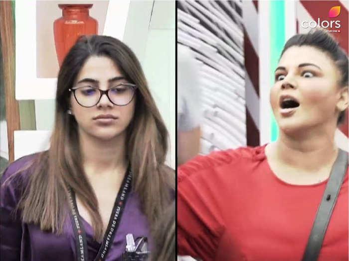 nikki tamboli mother blasts rakhi sawant for saying vulgar and cheap things about her daughter nikki tamboli in bigg boss 14