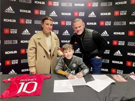 Wayne Rooney Son
