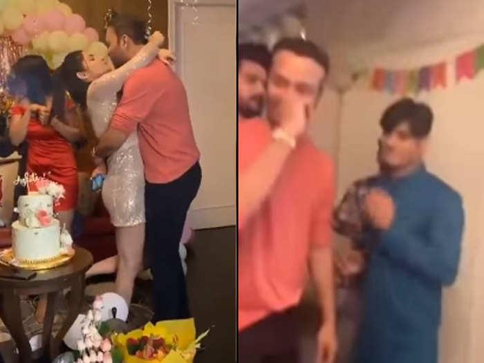 ankita lokhande party video