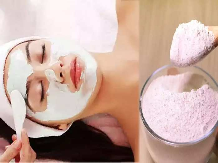 how to make a scrub from rice flour to get rid from dead skin in marathi