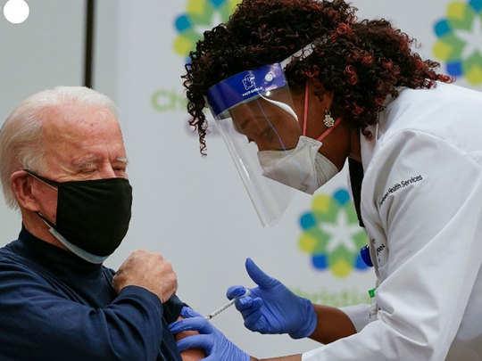 us president elect joe biden receives corona vaccine on live tv