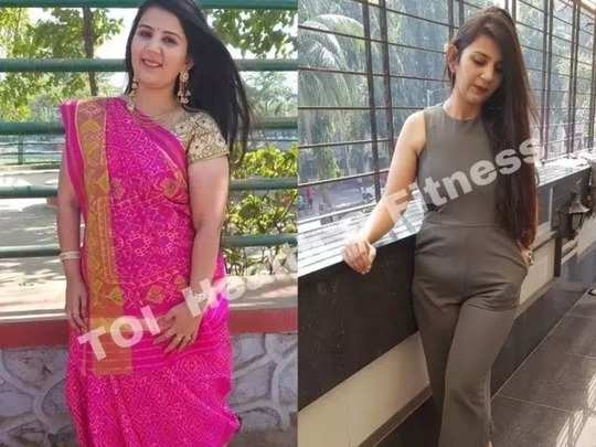 girl lost over 18 kilos in 6 months by walking daily read her weight los transformation story