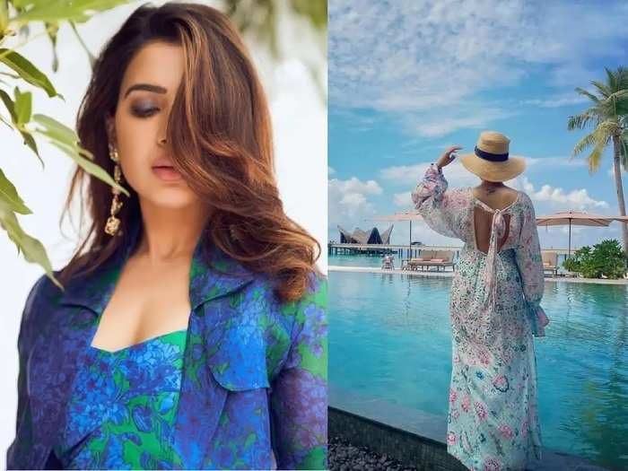 samantha akkineni in glamorous and beautiful look see her latest photos in Marathi